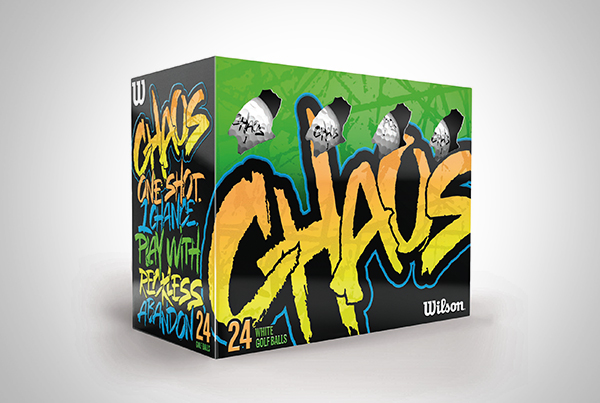 Chaos Golf Ball Packaging